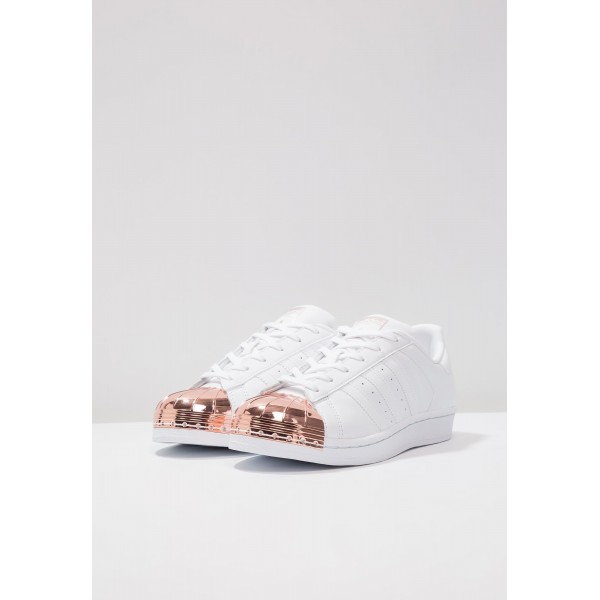 Damen / Herren Adidas Originals SUPERSTAR - Fitnessschuhe Low - Weiß/Cremeweiß/Rosy Gold
