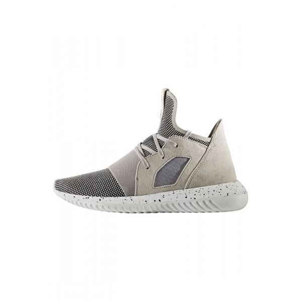 Damen / Herren Adidas Originals TUBULAR DEFIANT - Sportschuhe Hoch - Klar Granit/Schwarz/Weiß/Footwear Weiß