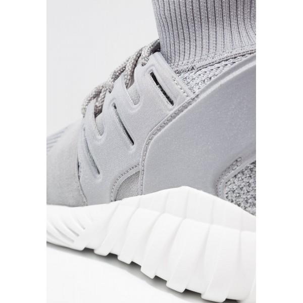 Damen / Herren Adidas Originals TUBULAR DOOM PK - Laufschuhe Hoch - Hellgrau/Rauchweiß