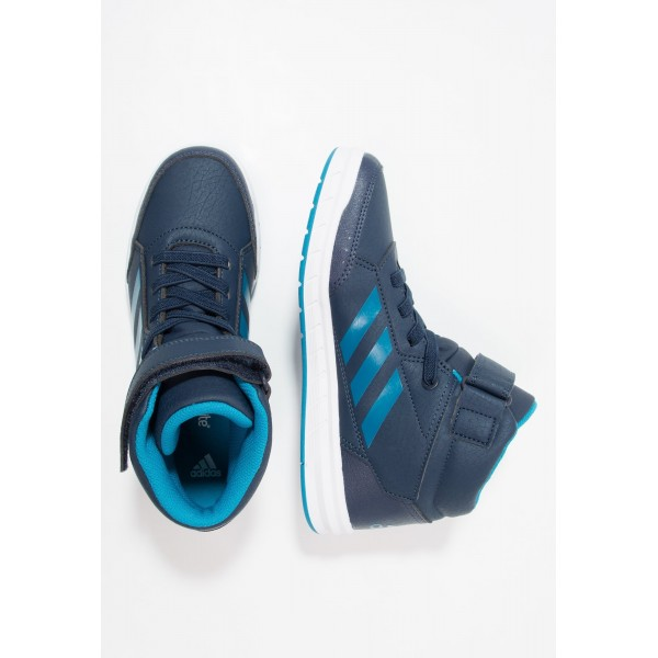 Kinder Adidas ALTASPORT MID - Training Schuhe - Dunkelblau/Benzin Blau/Weiß/Footwear Weiß