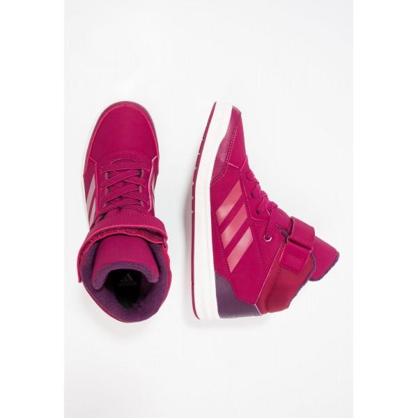 Kinder Adidas ALTASPORT MID - Sportschuhe Low - Hell Burgund/Dunkel Rot/Weiß