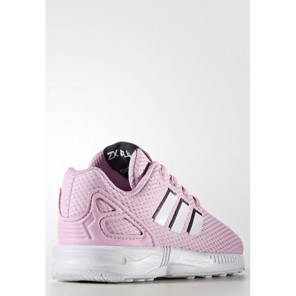 Kinder Adidas Originals ZX FLUX - Schuhe Low - Misty Rose Pink/Weiß/Footwear Weiß/Schwarz