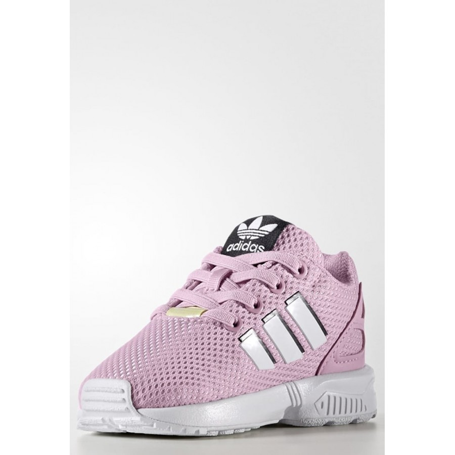 Kinder Adidas Originals ZX FLUX Schuhe Low Misty Rose