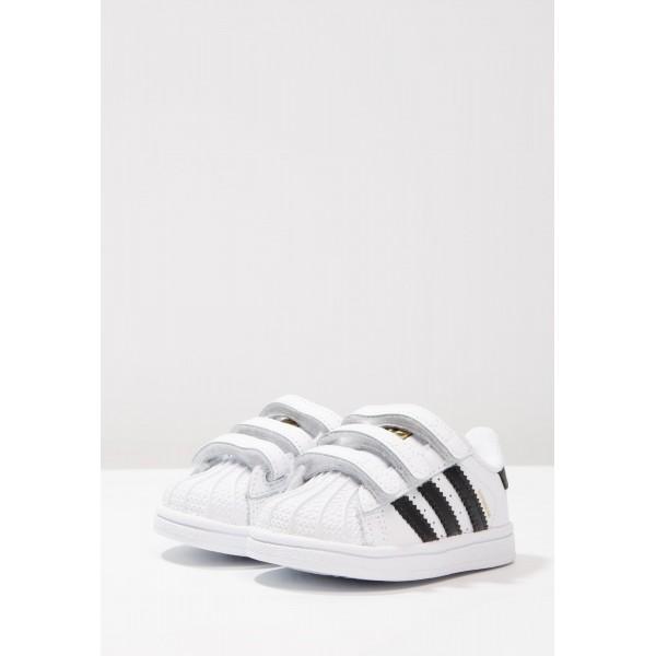 Kinder Adidas Originals SUPERSTAR CF - Laufschuhe For Laufschuhe - Weiß/Footwear Weiß/Anthrazit Schwarz/Obsidian Schwarz