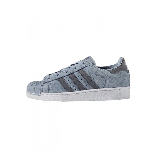Kinder Adidas Originals SUPERSTAR - Turnschuhe Low - Wolf Grau/Dunkelgrau