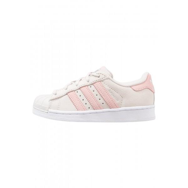 Kinder Adidas Originals SUPERSTAR - Schuhe Low - Perlgrau/Hellbeige/Eis Pink