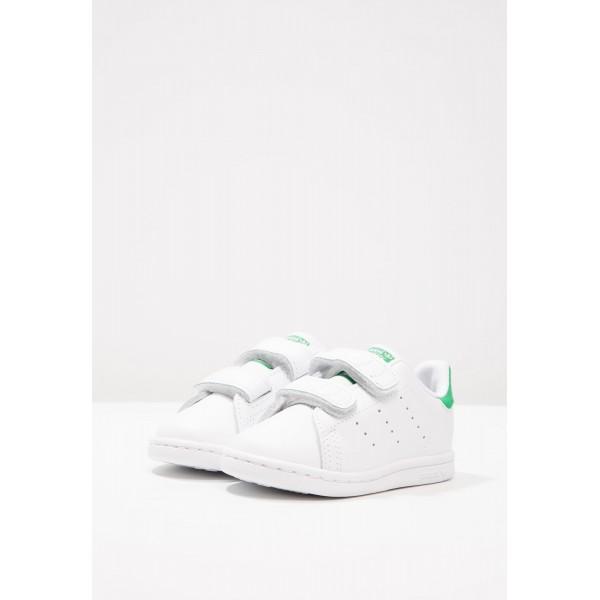 Kinder Adidas Originals STAN SMITH CF I - Fitnessschuhe Low - Weiß/Persian Grün