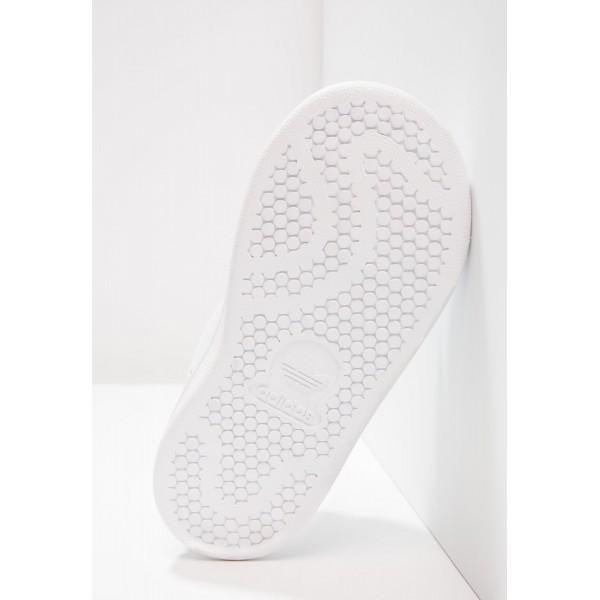 Kinder Adidas Originals STAN SMITH CF I - Schuhe Low - Weiß/Himbeerrot/Bold Pink