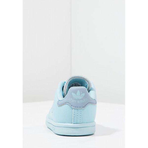 Kinder Adidas Originals STAN SMITH - Sportschuhe Low - Eisblau/Cyan Blau/Hellblau
