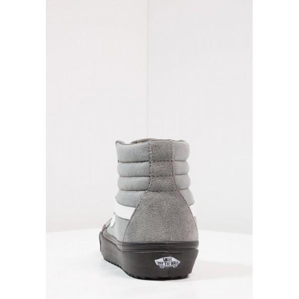 Damen / Herren Vans UA SK8-HI REISSUE WAFFLESAW DX - Skate Sneakers - Castor Grau/Schwarz/Weiß