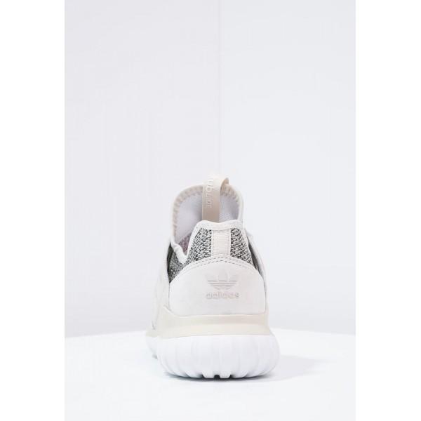 Damen / Herren Adidas Originals TUBULAR RADIAL - Trainingsschuhe Low - Elfenbein/Hellbraun/Schwarz/Creme Weiß