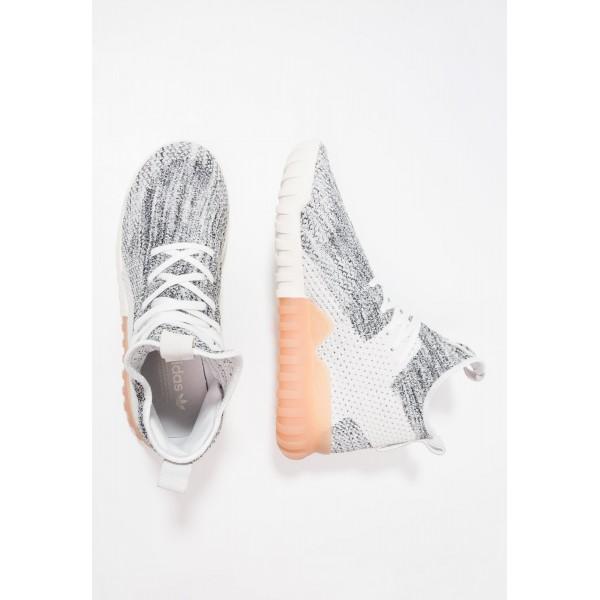 Damen / Herren Adidas Originals TUBULAR X PK - Sportschuhe Hoch - Kristallweiß/Muschelgrau/Grey One/Schwarz