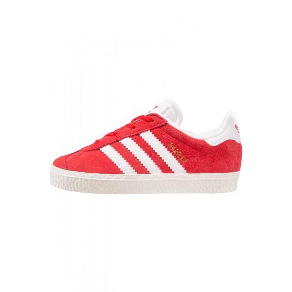Kinder Adidas Originals GAZELLE I - Running Sneakers Low - Scharlachrot/Hochrot/Weiß/Gold
