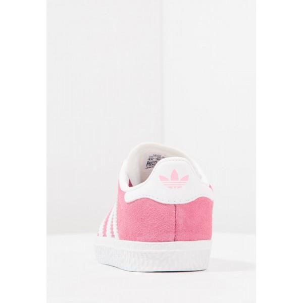 Kinder Adidas Originals GAZELLE I - Laufschuhe Low - Coral Pink/Korallenrot/Weiß/Footwear Weiß