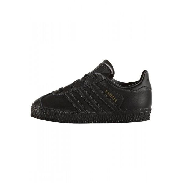 Kinder Adidas Originals GAZELLE - Fitnessschuhe Low - Anthrazit Schwarz/Core Black