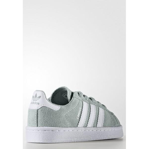 Kinder Adidas Originals CAMPUS - Sportschuhe Low - Mintgrün/Weiß/Footwear Weiß