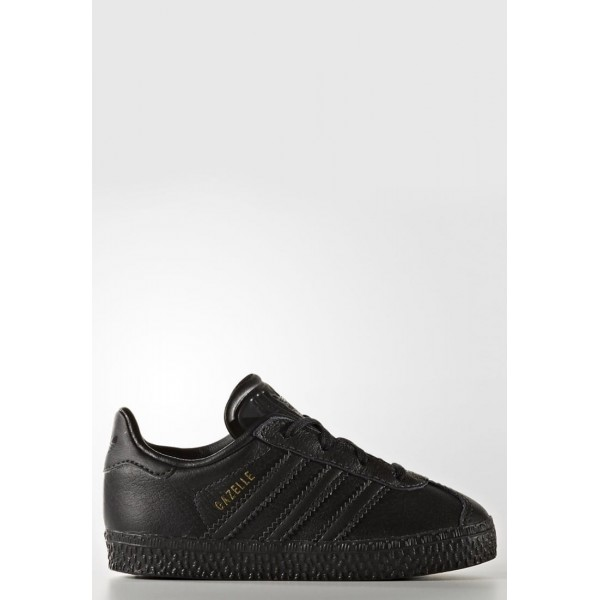 Kinder Adidas Originals GAZELLE - Fitnessschuhe Low - Anthrazit Schwarz/Core Black
