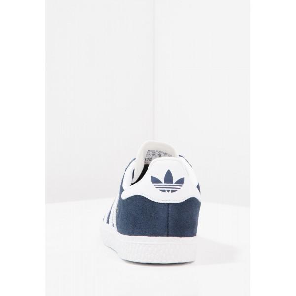 Kinder Adidas Originals GAZELLE - Fitnessschuhe Low - Dunkelmarine/Tiefblau/Weiß/Footwear Weiß