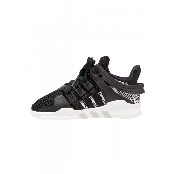 Kinder Adidas Originals EQT SUPPORT ADV - Turnschuhe Low - Anthrazit Schwarz/Core Black/Weiß/Footwear Weiß
