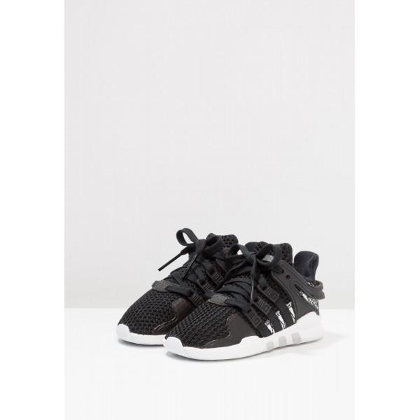 Kinder Adidas Originals EQT SUPPORT ADV - Turnschuhe Low - Anthrazit Schwarz/Core Black/Weiß/Footwear Weiß
