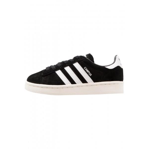 Kinder Adidas Originals CAMPUS C - Trainingsschuhe Low - Dunkel Schwarz/Weiß